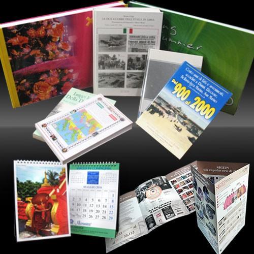 Cataloghi, Depliant e Calendari