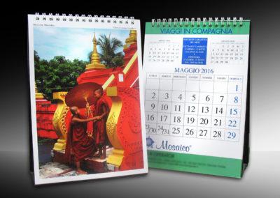Calendari da tavolo spiralati