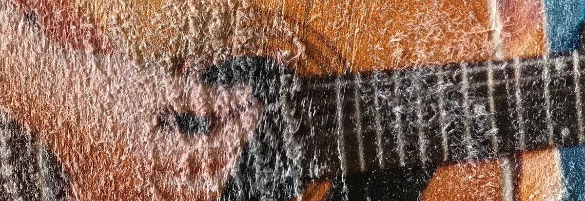 stampa diretta su legno non trattato