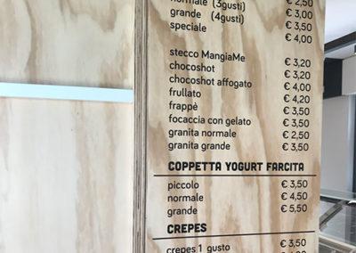 menu su legno
